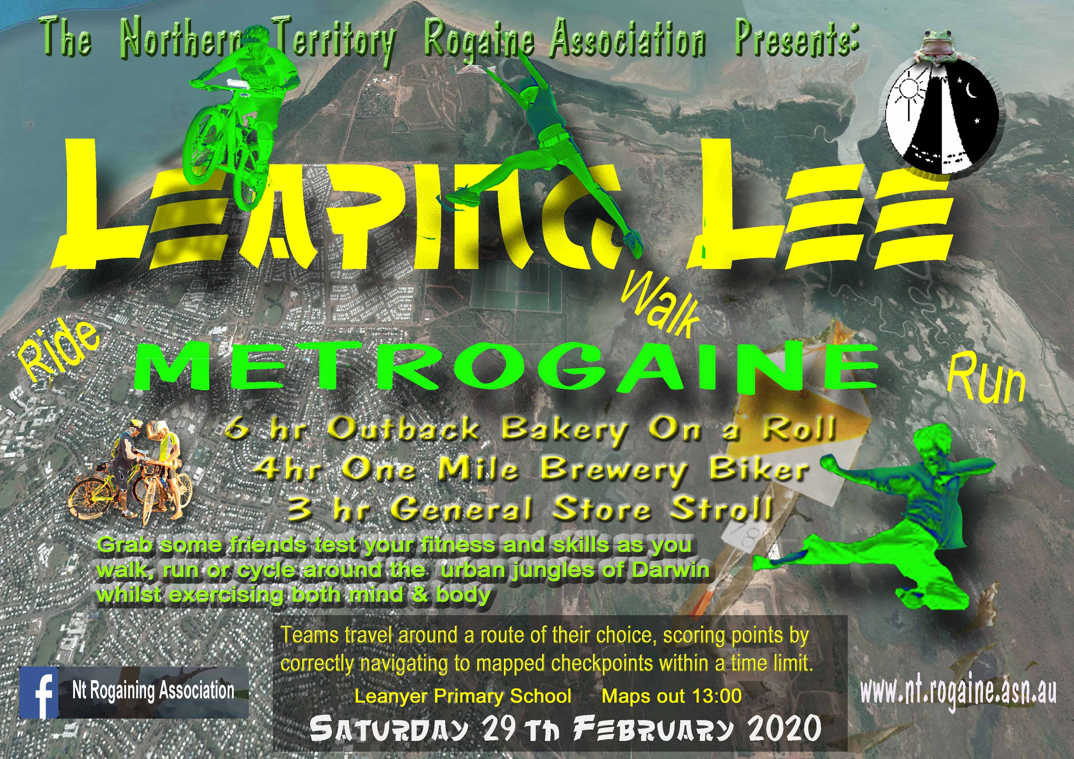 Leaping Lee Metrogaine